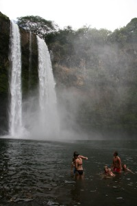 Wailua Falls at the bottom2