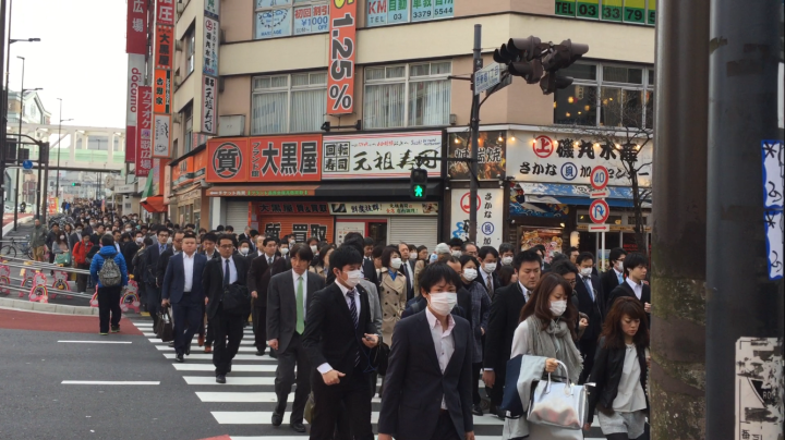 Japan- What's with the facemasks?