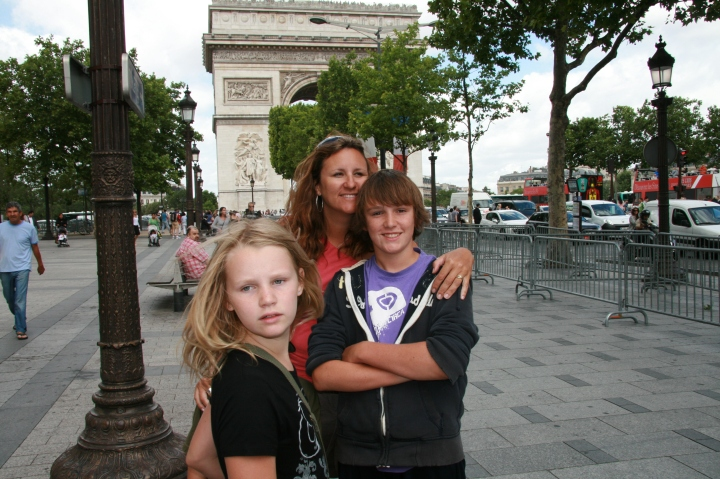 Climbing the Eiffel Tower and roaming the streets of Paris…. with kids.